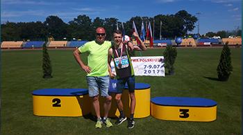 Medale na Mistrzostwach Polski