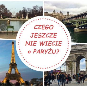 O Paryżu…
