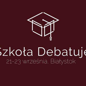 Już wkrótce – Turniej Debat w IV LO!