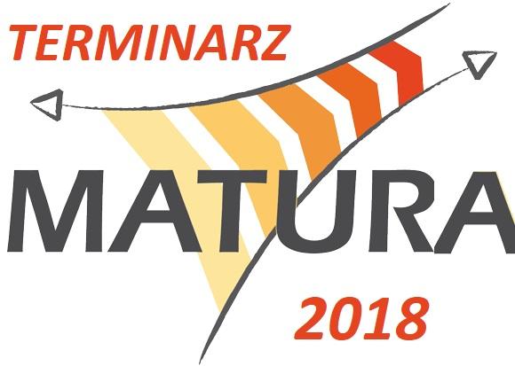 Terminarz Matury 2019